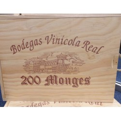 200 Monges Wooden Box 3 Bottles