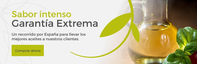 Sabor intenso, Garantía extrema, un recorrido por España para llevar los mejores aceites a nuestros clientes